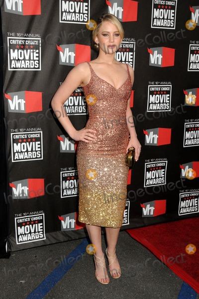Jennifer Lawrence Photo - 16th Annual Critics Choice Movie Awards