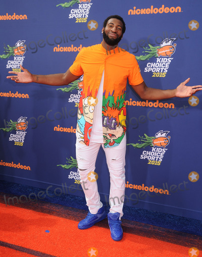 Andre Drummond Photo - 16 July 2015 - Westwood California - Andre Drummond Nickelodeon Kids Choice Sports Awards 2015 held at the UCLA Pauley Pavilion Photo Credit Byron PurvisAdMedia