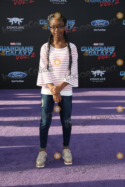 Marsai Martin Photo - Premiere Of Disney And Marvels Guardians Of The Galaxy Vol 2 - Arrivals