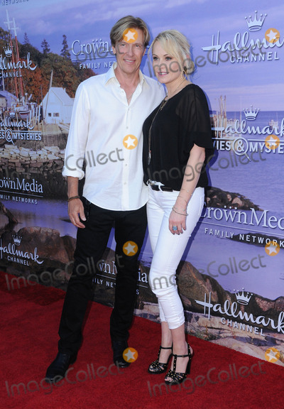 Photo - 27 July 2016 - Beverly Hills California Jack Wagner Josie Bissett Hallmark Channel and Hallmark Movies  Mysteries Summer 2016 Television Critics Association Press Tour Event  held at a Private Residence Photo Credit Birdie ThompsonAdMedia