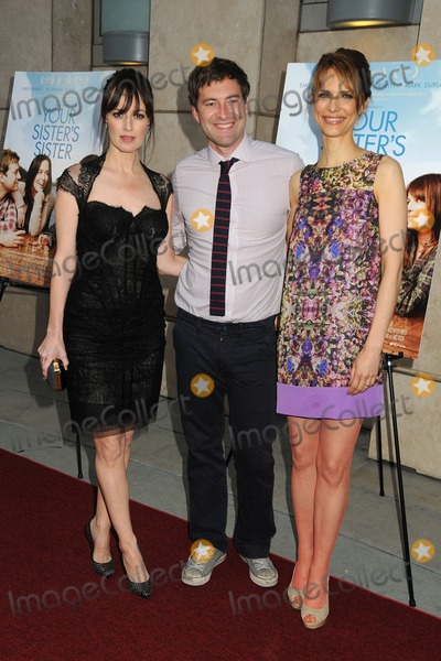 Mark Duplass,Lynn Shelton Photo - Your Sisters Sister Los Angeles Premiere