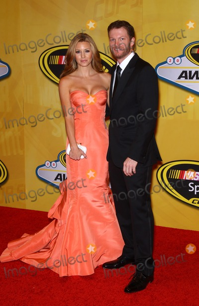 Dale Earnhardt Jr Photo - 06 December 2013 - Las Vegas NV -  Amy Reimann Dale Earnhardt Jr  2013 NASCAR Sprint Cup Series Awards Arrivals at The WynnPhoto Credit mjtAdMedia