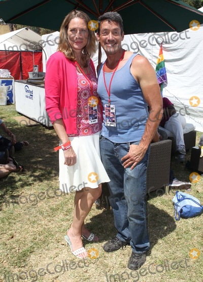 Betsy Butler,John Duran Photo - 2012 LA Gay Pride_Backstage