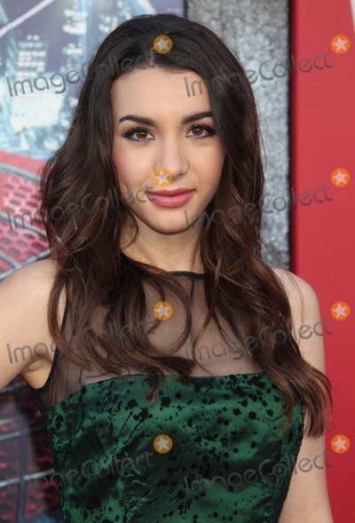 Spiderman,Hannah Marks,Spider Man,Spider-Man Photo - The Amazing Spider-Man Los Angeles Premiere