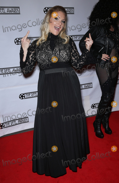Photo - 20 February 2017 - Las Vegas NV -    Becca Marie as Adele  Red Carpet Arrivals for 23rd Production of The Reel Awards Presented by International Celebrity Images at The Golden Nugget Hotel and Casino  Photo Credit MJTAdMedia