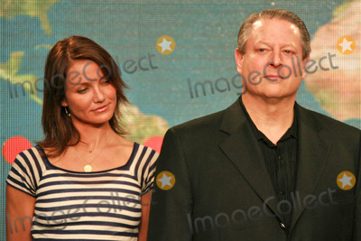 Al Gore,Cameron Diaz Photo - Global Climate Crisis Campaign Concert Press Conference