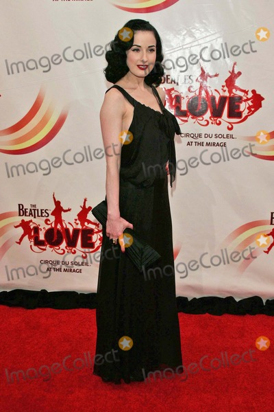 The Beatles,Cirque du Soleil,Dita Von Teese,Beatles Photo - The Beatles LOVE By Cirque Du Soleil Gala Premiere