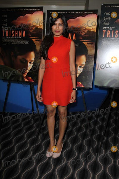 Freida Pinto Photo - Trishna Los Angeles Screening