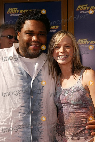 Anthony Anderson,Hannah Spearritt Photo - Agent Cody Banks 2-Destination London World Premiere