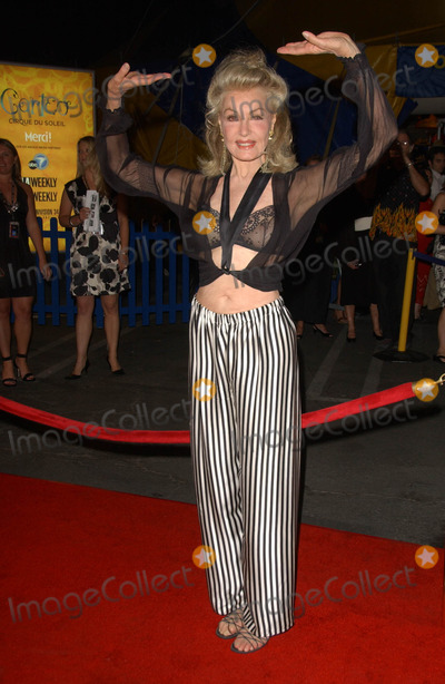 Cirque du Soleil,Julie Newmar Photo - Los Angeles Opening Cirque Du Soleils Corteo