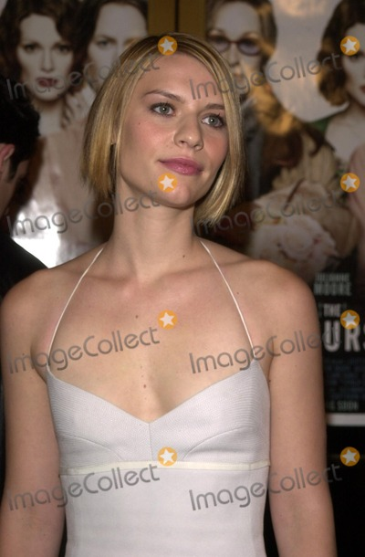 Claire Danes,CLAIR DANES Photo - The Hours Premiere