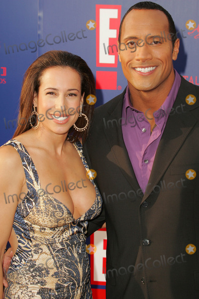Dwayne Johnson And Wife Dany