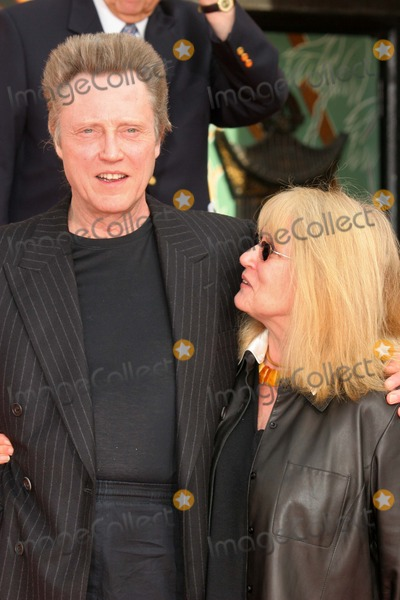 christopher walken wife. Christopher Walken and wife at