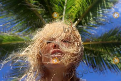 Photos From Nadeea Volianova Wet and See-Thru Vacationing on Miami Beach