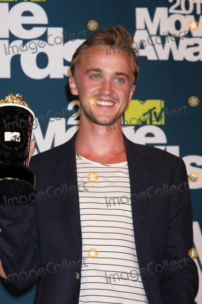 tom felton 2011 girlfriend. Tom Felton in the press room
