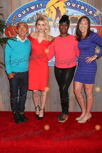 Tai Trang,Cirie Fields Photos - LOS ANGELES - MAY 24  Tai Trang Andrea Boehlke Cirie Fields Sarah Lacina at the Survivor Game Changers - Mamanuca Islands Finale at the CBS Studio Center on May 24 2017 in Studio City CA