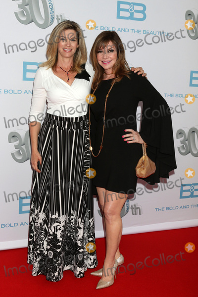 Bobbie Eakes,Tracy Melchior Photo - The Bold and The Beautiful 30th Anniversary Party