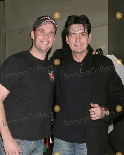 Kevin Dillon,Charlie Sheen,FRIARS CLUB Photo - GBK Productions Golden Globe Gifting Suite Day 3