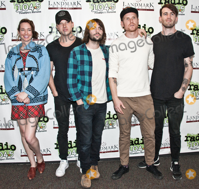 Photos From Rooney Visits Radio 1045