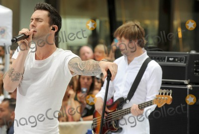 Adam Levine,Maroon 5,Mickey Madden Photo - Maroon 5 in concert