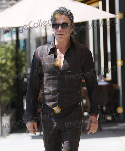 Photos From Mickey Rourke is seen in Los Angeles, CA