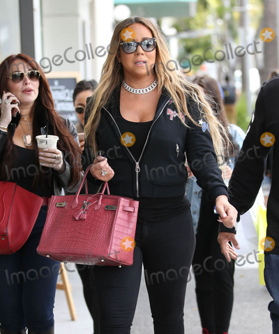 Photos From Mariah Carey is seen in Los Angeles, CA