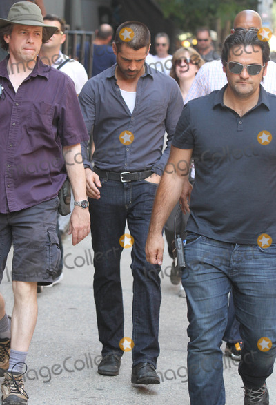 Colin Farrell,THE SET Photo - Dead Man Down Filming In NY