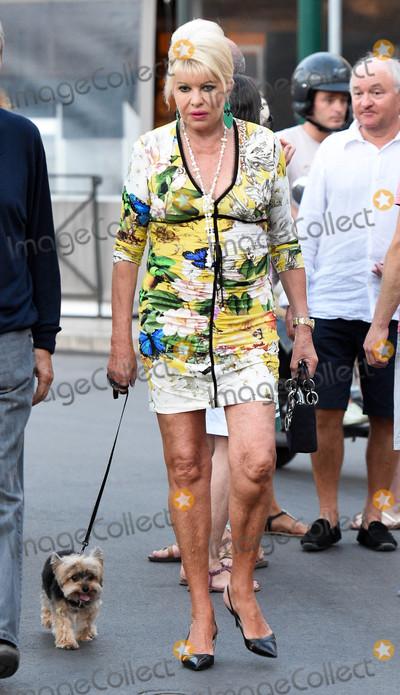 Photos From Ivana Trump in Saint Tropez, France