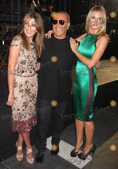 Michael Kors,Nina Garcia,Heidi Klum Photo - Project Runway 10th Anniversary
