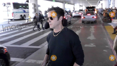 Photos From Justin Theroux is seen at LAX Airport in Los Angeles, CA
