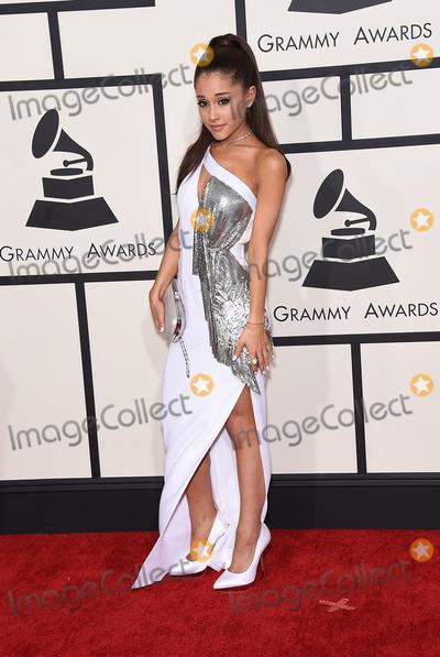 Ariana Grande,Grammy Awards Photos - Photo by KGC-11starmaxinccomSTAR MAX2015ALL RIGHTS RESERVEDTelephoneFax (212) 995-11962815Ariana Grande at the 57th Grammy Awards(Los Angeles CA)