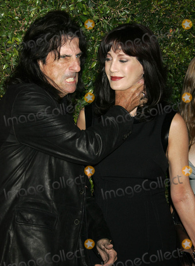 Alice Cooper,RES Photo - Alice Cooper and his wife Sheryl at Spike TVs Scream 2007 (Los Angeles CA)