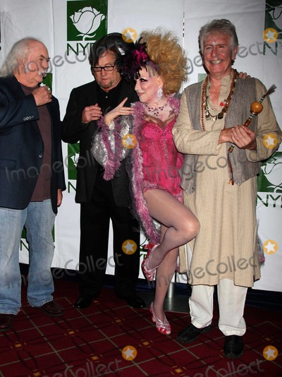 Bette Midler Photo - Crosby Stills Nash Midler8426JPGNYC  103009Bette Midler (dressed as a Showghoul) with David Crosby Stephen Stills and Graham Nash at Bette Midlers annual HULAWEEN Gala supporting New York Restoration Project at the Waldorf AstoriaDigital Photo by Adam Nemser-PHOTOlinknet