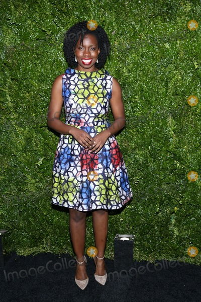 Adepero Uduye Photo - April 22 2014 New YorkAdepero Uduye arriving at the Chanel Tribeca Film Festival Artist Dinner at Balthazer on April 22 2014 in New York City
