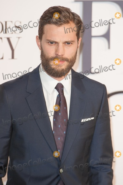 Jamie Dornan Photo - Jamie Dornan arriving for the UK Premiere of 50 Shades of Grey at the Odeon Cinema Leicester Square London 12022015 Picture by Dave Norton  Featureflash