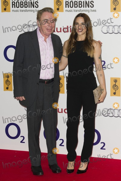 Andrew Lloyd Webber,Melanie C Photo - Silver Clef Awards 2012