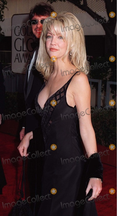 Heather Locklear Photo - 19JAN97  Actress HEATHER LOCKLEAR at the Golden Globe Awards      Please Credit Pix PAUL SMITH