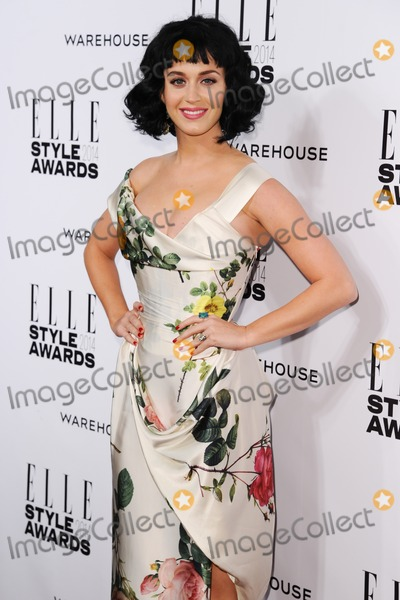 Katy Perry,Katie Perry Photos - Katy Perryarrives for the Elle Style Awards 2014 at One Embankment London 18022014 Picture by Steve Vas  Featureflash