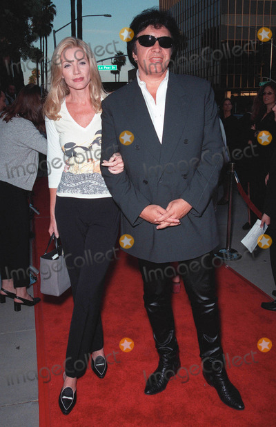 RENEE RUSSO,Pierce Brosnan,Rene Russo,Gene Simmons,Kiss,Shannon Tweed Photo - Thomas Crown Affair premiere