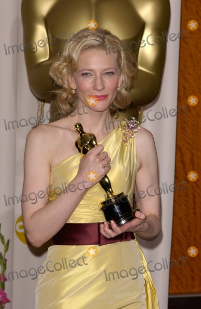 Cate Blanchett,CATE BLANCHETTE Photo - Academy Awards