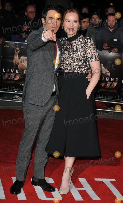 Chris Messina,Jennifer Todd Photo - Live By Night European Premiere