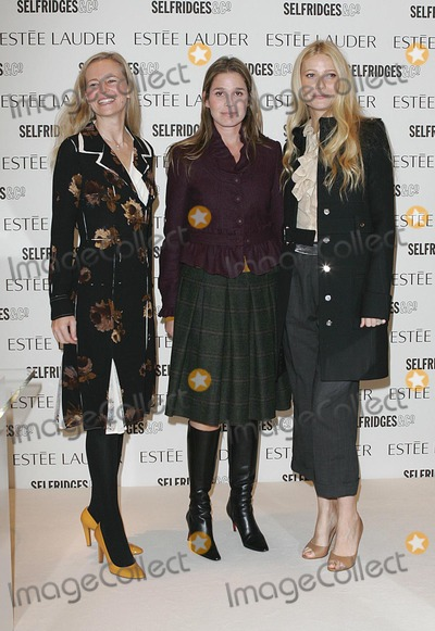 Alana Weston Photo - LondonL-R  Alana Weston Aerin Lauder and Gwyneth Paltrow who  is now officially the new face  of Estee Lauder cosmetics at Selfridges Department store in Londons Oxford Street  She was there to promote Pleasures pefume and replaces Elizabeth Hurley who was the face of the company before 8th November 2005 Paolo PirezLandmark Media