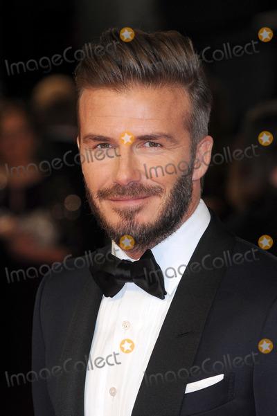 David Beckham Photos - London UK David Beckham  at the EE BAFTA British Academy Film Awards Red Carpet Arrivals at the Royal Opera House Covent Garden London 8th February  2015 RefLMK200-50550-090215Landmark MediaWWWLMKMEDIACOM