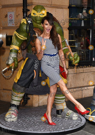 Lizzie Cundy Photos - London UK Lizzie Cundy  at A VIP Screening of Teenage Mutant Ninja Turtles - Out Of The Shadows held at Vue Westend Leicester Square London on Sunday 29 May 2016 Ref LMK392-60613-300516Vivienne VincentLandmark Media WWWLMKMEDIACOM