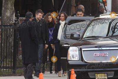 Whitney Houston Photo - Whitney Houston Funnel Service at New Hope Baptist Church in Newark NJ