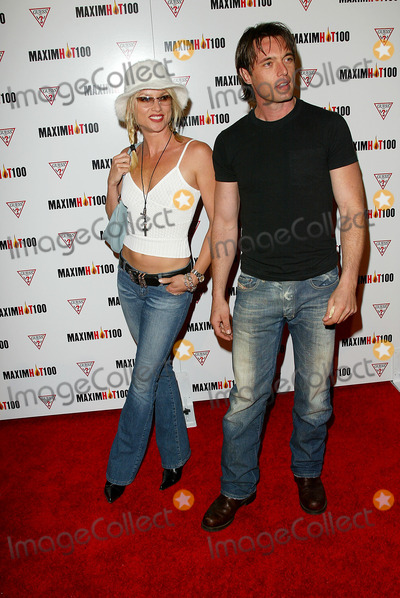 Nicolette Sheridan,James Wilder Photo - Maxim Magazine Hot 100 2002 Party