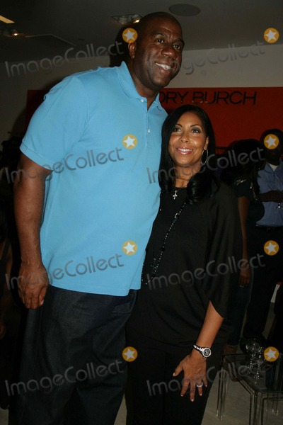 Cookie Johnson,Magic Johnson,