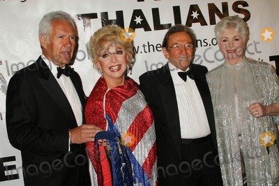 Rooney,Ruta Lee,Norm Crosby,Shirley Jones,Mickey Rooney,Alex Trebek Photo - The Thalians 54th Anniversary Black Tie Dinner Ball Beverly Hills