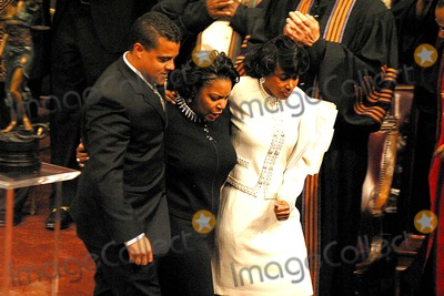 Johnnie Cochran,Tiffany Photo - Funeral of Johnnie L Cochran Jr