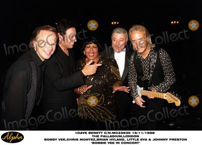 Brian Hyland Photo - Bobby Vee at the Paladium (l-r) Bobby Vee Chris Montez Little Eva Johnny Preston and Brian Hyland